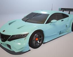 3D Honda NSX GT