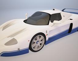 Maserati MC12 luxury 3D model