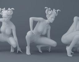 Sexy Medusa 001 3D printable model