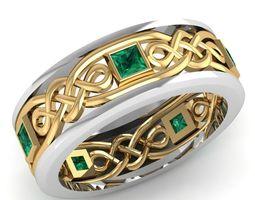 3d print model 288 diamond ring