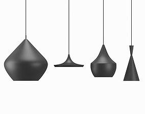 3D asset Tom Dixon Beat Lamps