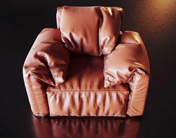 puf Armchair 3D model
