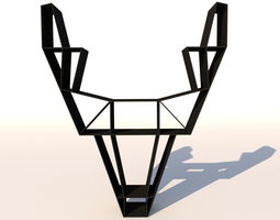 3D model Deer Shelf Unit