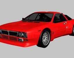 3D asset Lancia 037 Stradale 1982