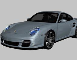 3D model Porsche 911 Turbo 997