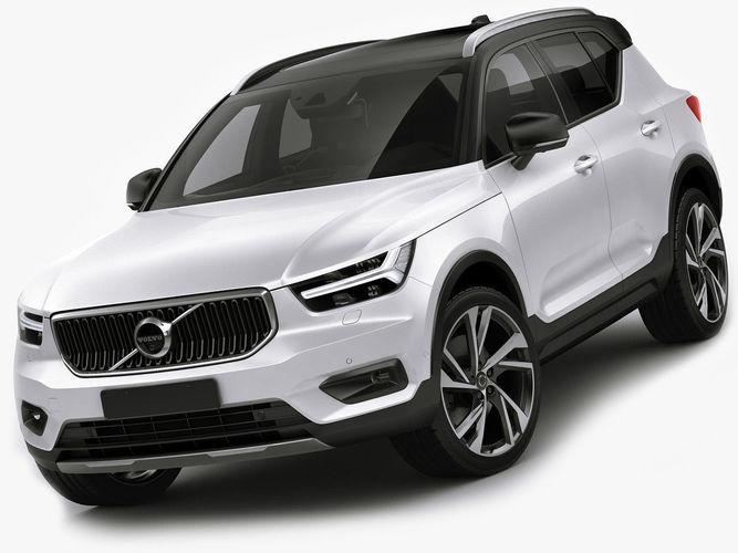 Volvo XC40 2018 3D model | CGTrader