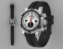 3D Weide sport watch