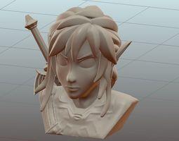 3D print model Link -Legend of Zelda- BOTW Bust