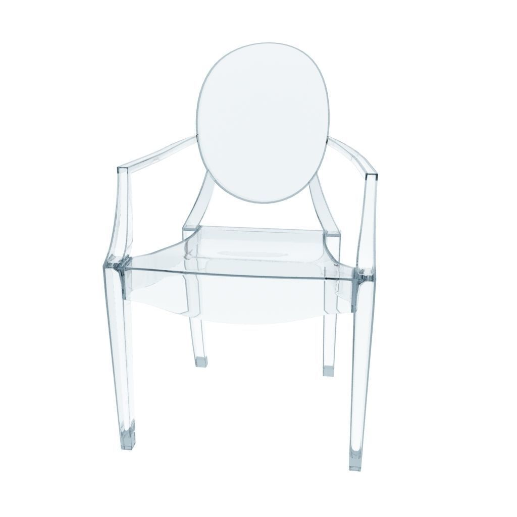 Kartell Louis Ghost Chair 3D model | CGTrader