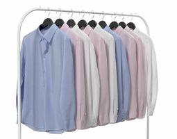 3D model Shirts on Hanger