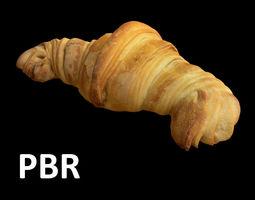 3D asset French Croissant - PBR