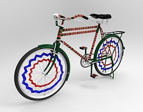 old bicycle 3D