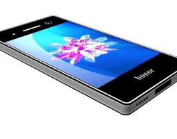 3D Huawei Honor 8 Lite black