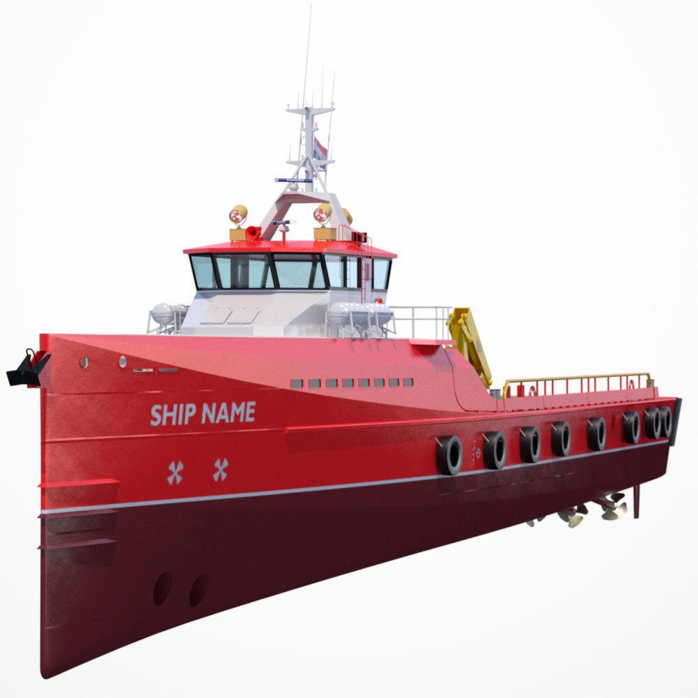 Fast Crew Supplier Vessel