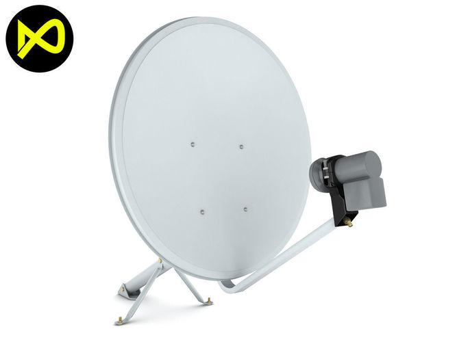 home satellite dish 3d model max obj mtl 3ds fbx c4d lwo lw lws 1