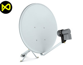 3D model Home Satellite Dish