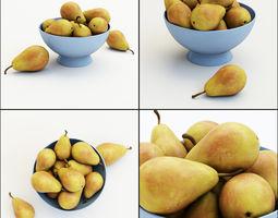 Pears in the vase 3D model
