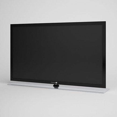 Flatscreen TV 03 | 3D model