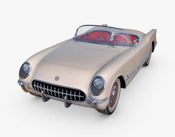 Chevrolet Corvette 1953 3D car