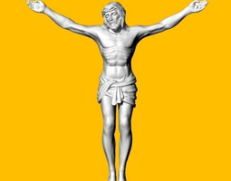 3D printable model JESUS brooches