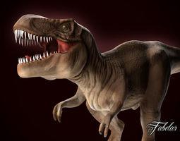 3d asset tyrannosaurus rex VR / AR ready