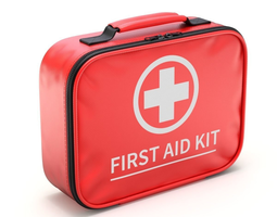 Car First Aid Kit 3D model