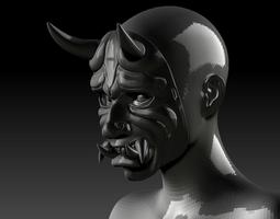3D print model Oni Mask cosplay