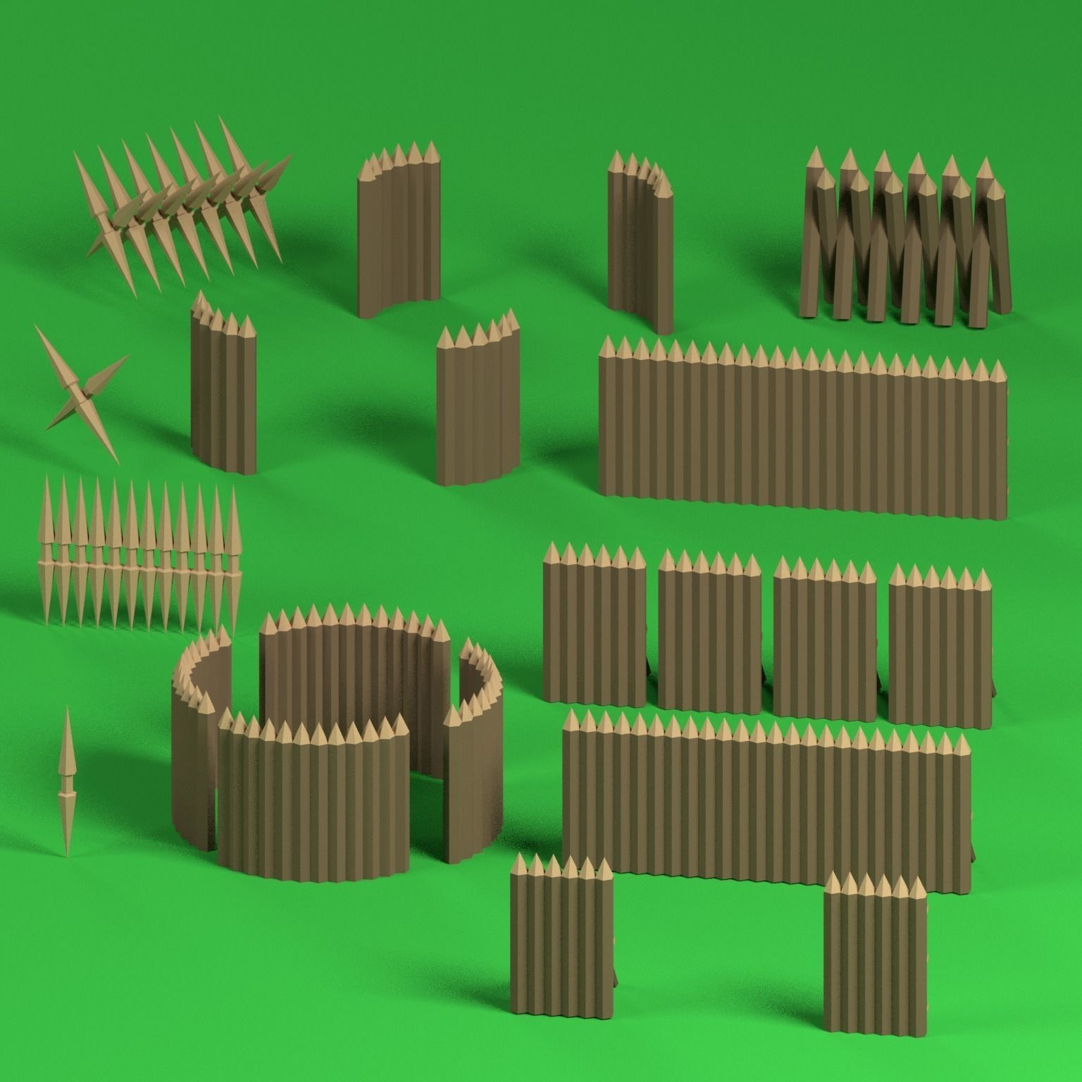 Low poly Palisades