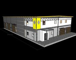 Garage Renault 3D