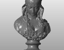 3D printable model The sorrowful woman