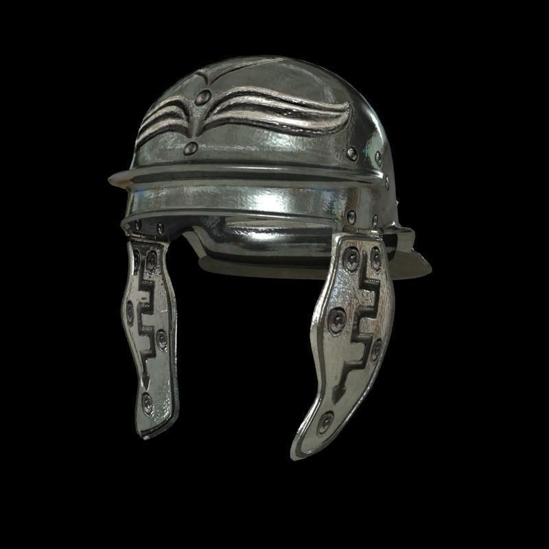 Romans helmet