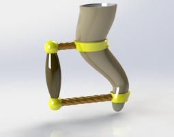 Medieval drinking horn 3D print model