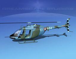 Bell OH-58B Italian Army 3D