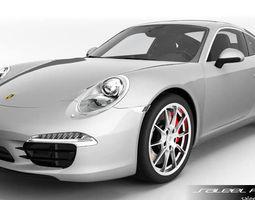 porsche 911 carrera s 2015 v2  3d