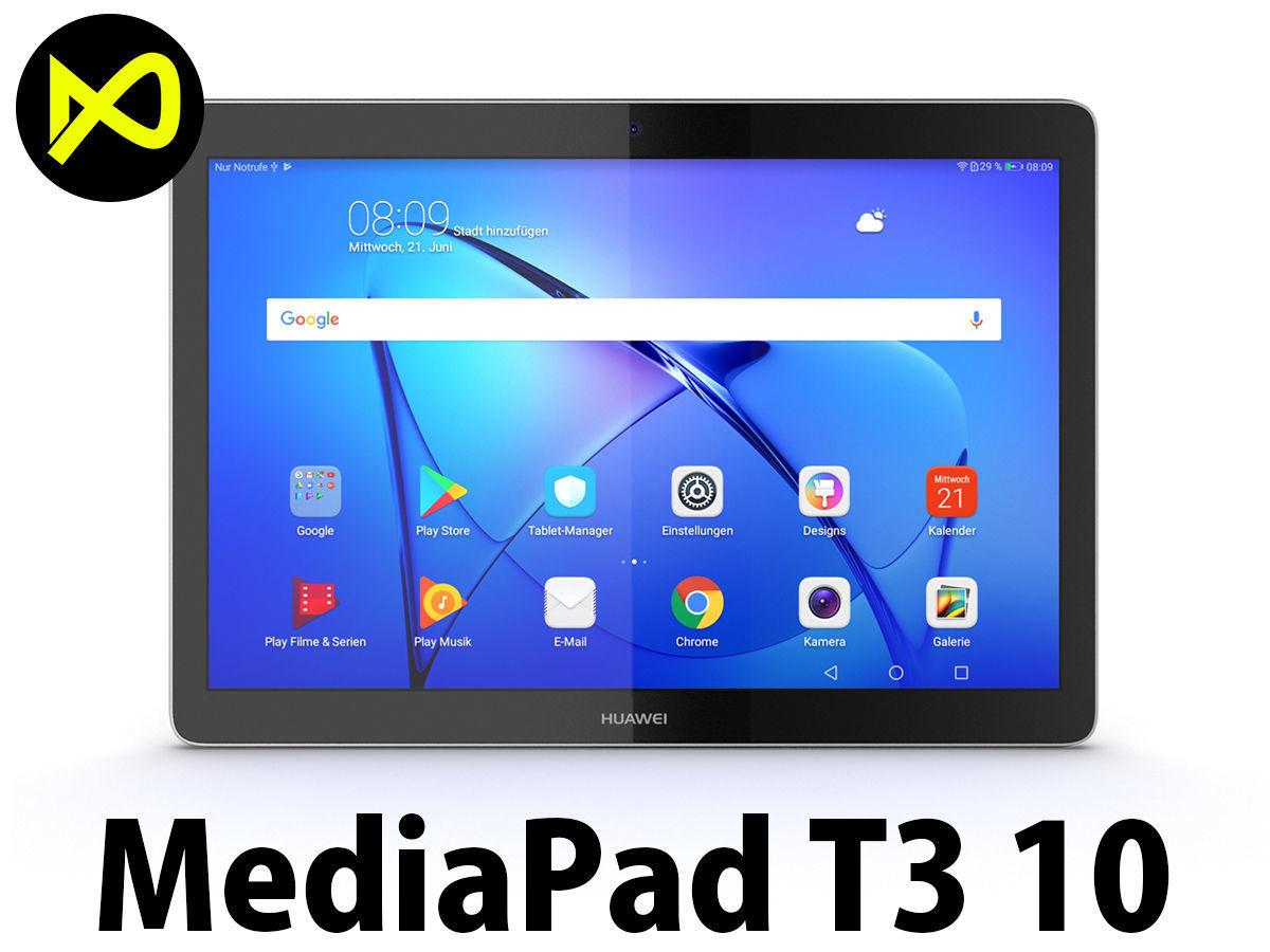 Huawei MediaPad T3 10   3D model