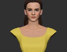 3D print model Girl Belle bust