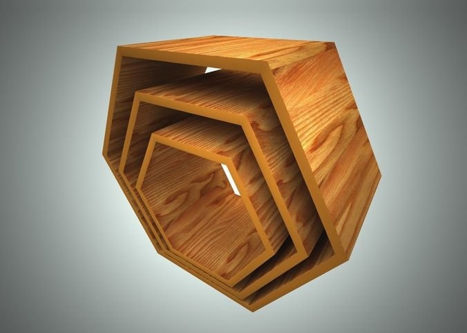 coffee table modular 3d model obj mtl 3ds c4d stl 1