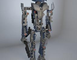Bionicle guard 3D model