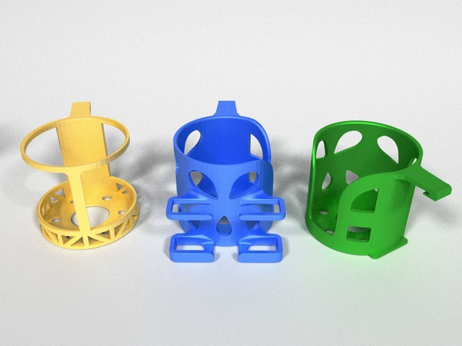 car cup holders 3d model stl 1