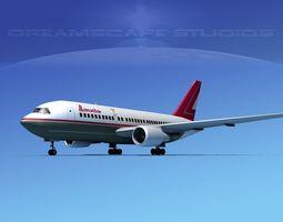Boeing 767-200ER Lauda 3D
