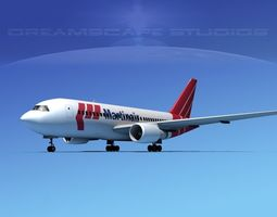 3D Boeing 767-200ER Martinair