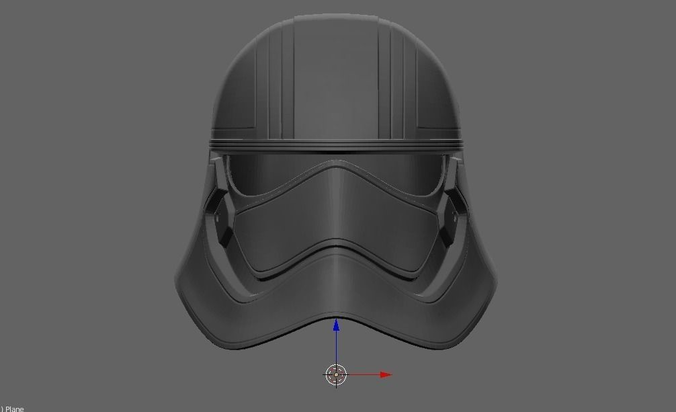 3d printable model captain phasma helmet star wars 2 - Rainbow six siege disable bomber ...
