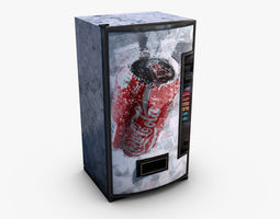 Vending Machine Coca-cola 3D model