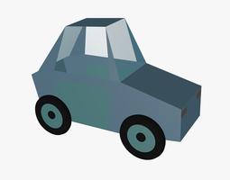 Paper car 3D