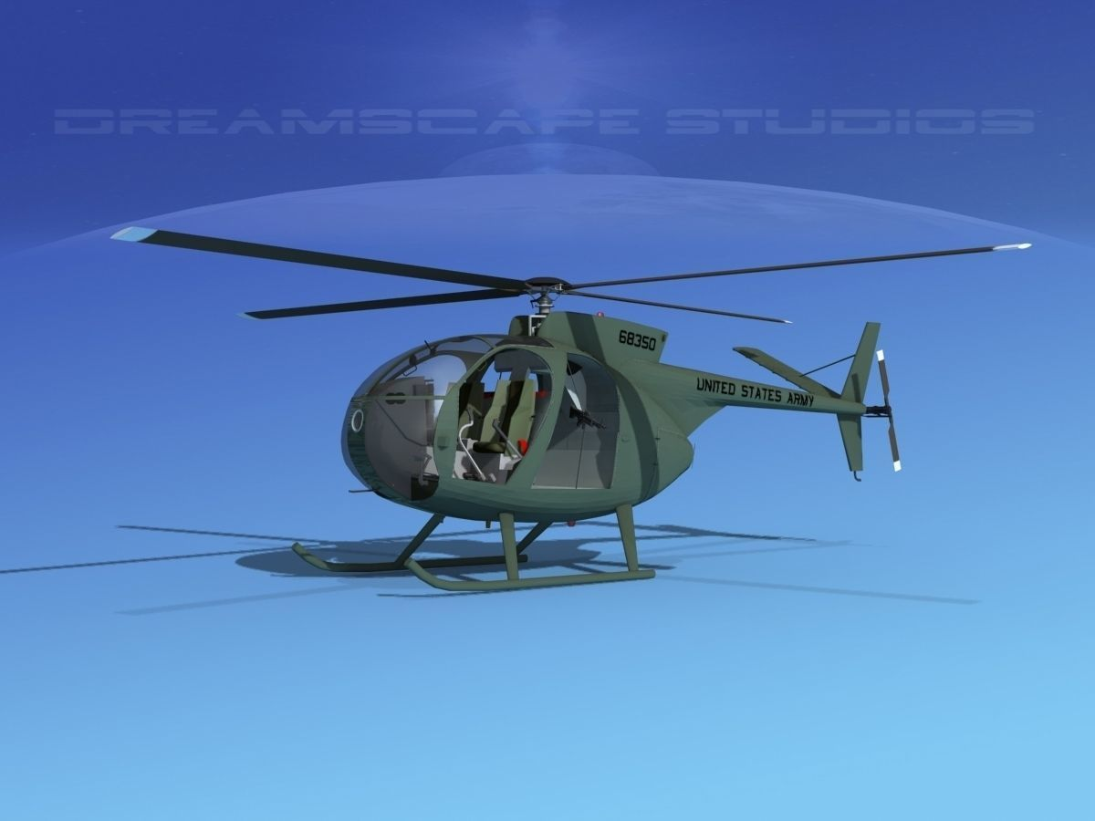Hughes OH-6 Cayuse V01