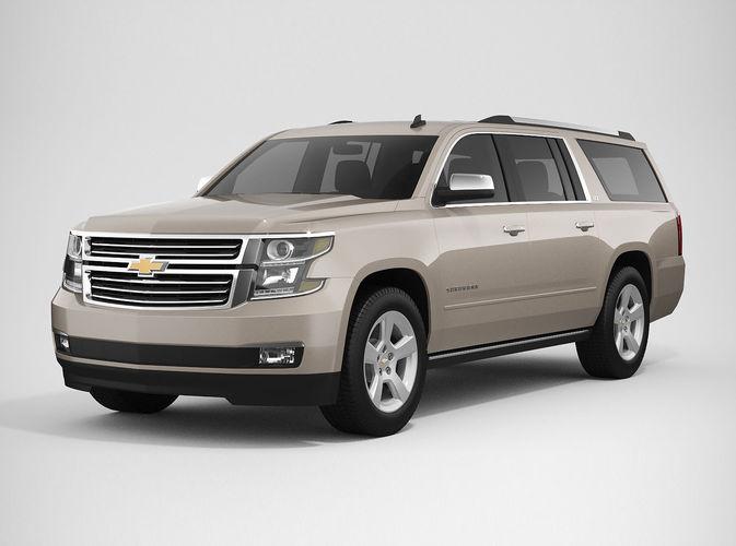 3D Chevrolet Suburban 2016 | CGTrader