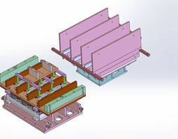 Thermoform plate mold - 4 plate models