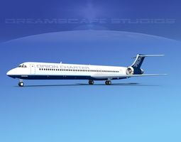 McDonnell Douglas MD83 Orion Charter 3D