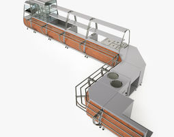 3D Serving Lines Equipment