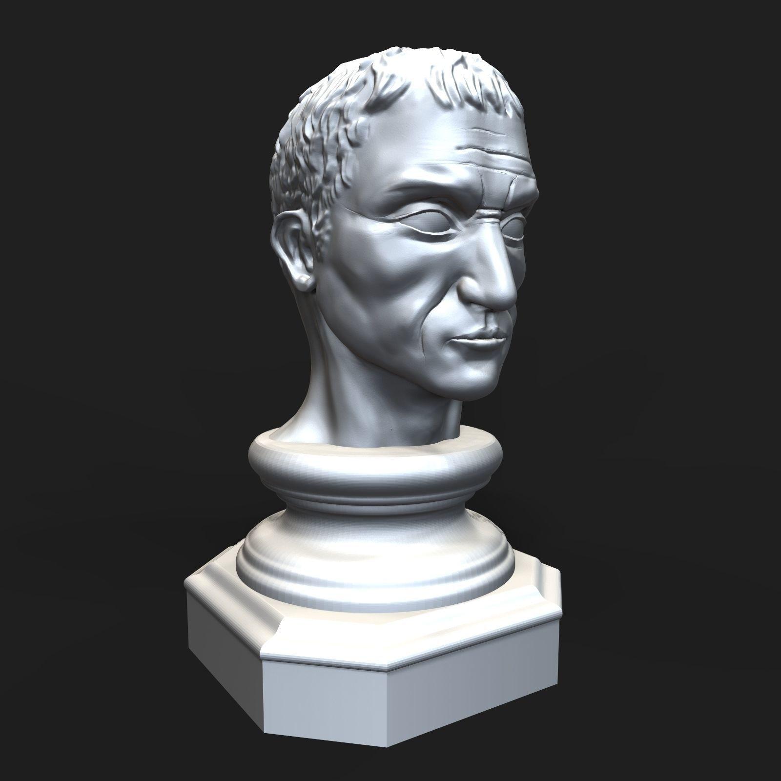 Gaius Julius Caesar bust